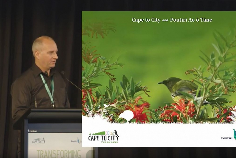 Introduction to Cape to City and Poutiri Ao ō Tāne @ Transforming Biodiversity 2017