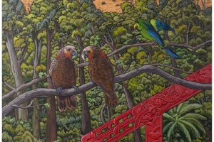An artist's vision of conservation in Hawke's Bay